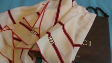 Gucci,  silk scarf  with Gucci  gift bag, Made in Italy. Unworn