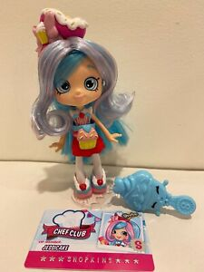 Shopkins Shoppies JESSICAKE Chef Club Doll- Excellent condition