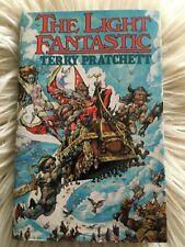 Terry Pratchett Discworld LIGHT FANTASTIC Hill House UK 1st edition facsimile HB
