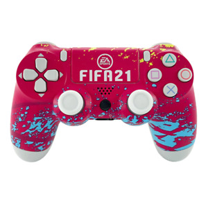Wireless Bluetooth Controller for Sony PS 4 Dual Shock Joystick Fifa 2021 Red