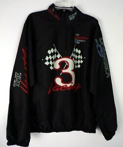 Vintage 80's Chevy Racing Dale Earnhardt #3 Jacket One Size Fits All 1/4 Zip