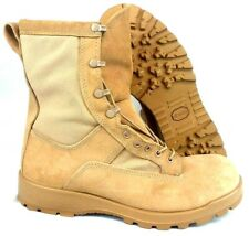 Bates Tan Military Style Boots With Vibram Sole Size 11