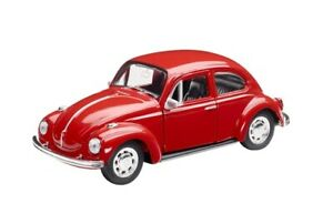 Genuine Volkswagen Merchandise Red Beetle Toy Car - Pull-Back Function 111087511