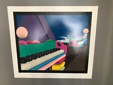 Stan Solomon Grand Piano Reflections Signed & Numbered Serigraph Print