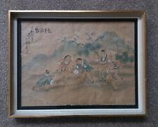 Vintage pintura China