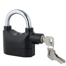Siren Alarm Lock Anti-Theft Security System Door Motor Bike Bicycle Padlock L8U0