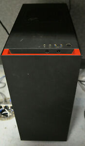 NZXT - Used Compact ATX Mid-Tower Case with Plastic Window - Red/Matte Black
