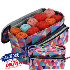 Storage Bag Crochet Ball Yarn Knitting Wool  Sewing Needle Bucket