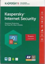 Kaspersky Internet Security Key Card, 1 Year (PC, Mac, Mobile)