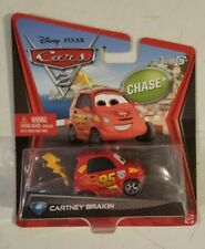 Disney Pixar Cars 2 Chase Sealed Cartney Brakin