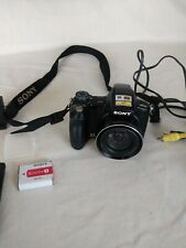 SONY DSC-H50 Digital Camera with cord and remote For Parts or repair B24