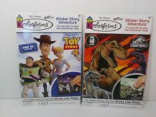 Colorforms Sticker Story Adventure Toy Story 4,  Jurassic World 2019 New