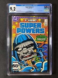 Super Powers #1 CGC 9.2 (1985) - Darkseid appearance