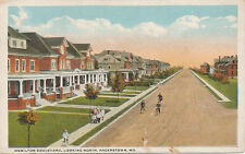 Hagerstown MD * Hamilton Blvd. Looking North  1921