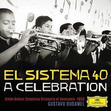 Gustavo/Simon Bolivar ainsi Dudamel-El sistema 40-a Celebration CD NEUF