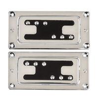Humbucker Bridge and Neck Pickups Set for Guitar Parts Chrome
