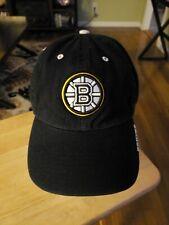 Boston Bruins Black Adjustable Back Cap, '47 Brand. Great Condition.