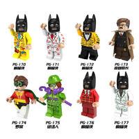 Bausteine Figur 8PCS Superheld Batman Mini Großer Film Serie Kinder Spielzeug Mo