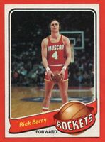 1979-80 Topps #120 Rick Barry NEAR MINT+ Houston Rockets HOF FREE SHIPPING