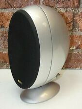 1 x KEF HTS KHT 3001 Gloss Silver Finish Surround Sound Cinema Loud Speaker