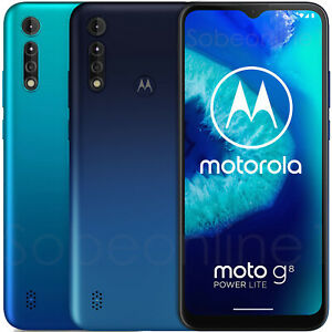"MotorolaMoto G8 Power Lite XT2055-2 64GB 4GB RAM (FACTORY UNLOCKED) 6.5"""