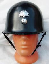 More details for vintage french rf riot gendarmerie helmet liner grid p.n. pont de buis 1965