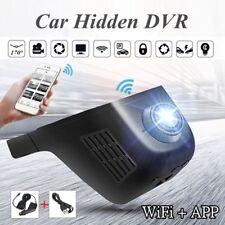 1080P HD  WiFi 170 Hidden Car DVR Dash Camera Video Recorder G-Sensor Wide-Angle