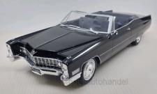 Cadillac Deville Convertible, schwarz - 1:18 KK-Scale  *NEW*