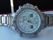 Kronos CHRONO VINTAGE COLLECTION K-100 CAB/1 SWISS WATCH NOS SAPPHIRE-DEPOSE UHR