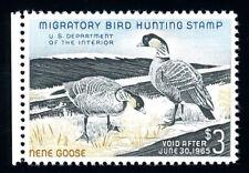 #RW31, $3.00 Nene Goose, XF-OG-NH, 2007 PSE (graded 90, nh), 2019 SMQ $160