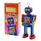 """NEUTRON ROBOT 5"""" Saint St John Wind Up Tin Toy Collectible Retro Space Age Marxu"""