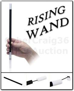 RISING & JUMPING WAND MAGIC TRICK OR USE AS A NORMAL MAGICIANS PROP JUMP RISE UK