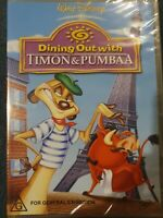 Dining Out With Timon And Pumbaa DVD (Region 4) Free Postage. A26