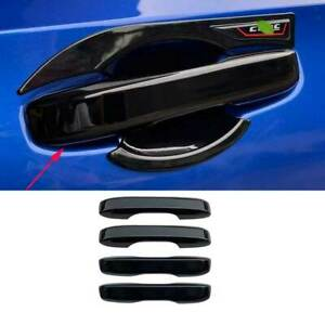 Fit For Honda Civic 11th 2022 UP Glossy Black Side Door Handle Cover Trim 4pcs