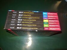 USED THE KAPLAN COMPLETE 7 SUBJECT REVIEW MCAT WORKBOOK 2015 STUDY GUIDE BOOKS