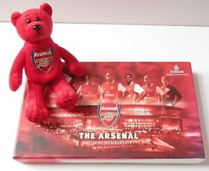 Arsenal Gooners Official Membership Pack DVD Year Book Emirates 2006/07 & Bear