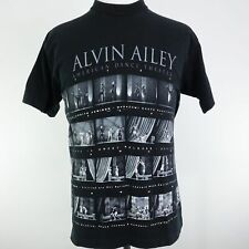 VTG ALVIN AILEY AMERICAN DANCE THEATER SINGLE STITCH ALL OVER PRINT T SHIRT SZ L