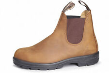 Blundstone Style 562 Nubuck Leather Australian Chelsea Boots Crazy Horse Brown