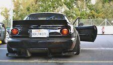 Mazda MX-5 MK1 NA MK2 NB Bumper Diffuser Undertray Side Mounts Diffusor Miata