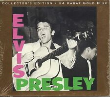DCC ELVIS PRESLEY- SEALED COLLECTOR's EDITION 24 KARAT GOLD CD