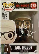 CHRISTIAN SLATER HAND SIGNED MR ROBOT FUNKO POP #478 A.