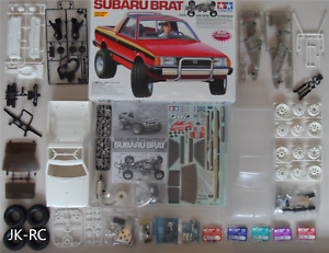 Choice Of New Spare Parts For 'Tamiya Subaru Brat 58384' 1/10 R/C