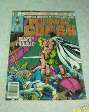 King Conan 6, NM- (9.2) 1981, 50% off Guide!