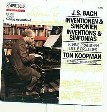 Bach: Inventions & Sinfonias, Little (6) Preludes, New Music