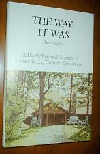 THE WAY IT WAS by Bob Aden HBDJ 1989