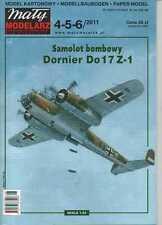 1:33 scale - Luftwaffe Bomber Dornier Do 17 Z-1 - Paper Model