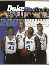 Duke Blue Devils NCAA Basketball 2003-04 Team Yearbook 296 pages Facts & Photos