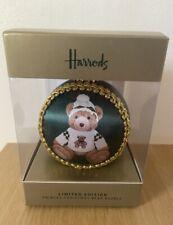 Harrods Christmas Xmas Bauble Ornament Decoration Bear Teddy 2021 Angus NEW UK
