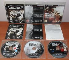 Medal of Honor Collection (Airborne,MoH 2010,Frontline,Warfighter) PS3, Español