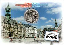 5 EURO BELGIQUE 2015 - MONS, CAPITALE EUROPEENNE DE LA CULTURE